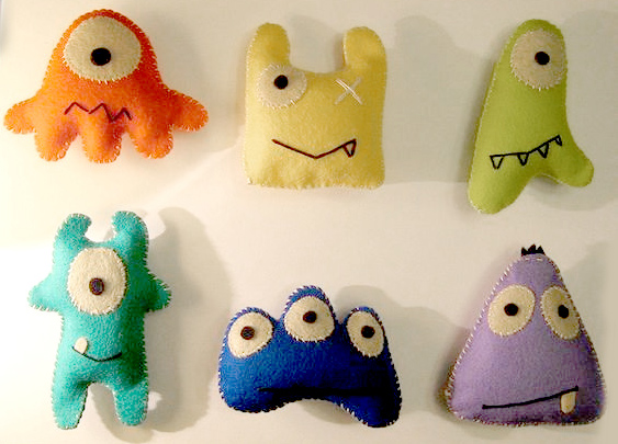 monster felties