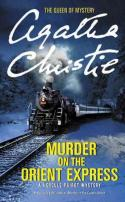 "Cover to Agatha Christie's novel ""Murder on the Orient Express"""