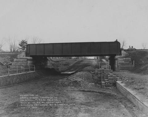 Green Street Bridge, Champaign, 1923