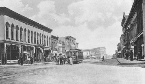 Main Street, Urbana (looking west)