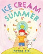 "Title page of the book, ""Ice Cream Summer"" by Peter Sis"