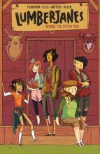 Lumberjanes Cover Art