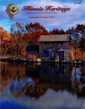 Illinois Heritage magazine cover, September-October 2015