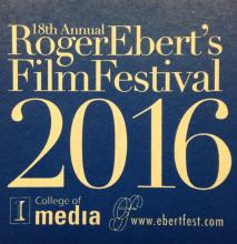 Logo 18th Annual Roger Ebert's Film Festival, 2016
