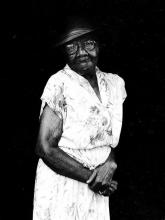 "Portrait of Rosie L. Williams, ""In all my years: Portraits of older blacks in Champaign-Urbana"""