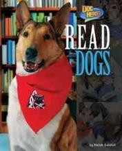 "Cover of the Book, "" R.E.A.D. Dogs"" by Meish Goldish"