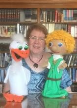 Anne Newman and her Puppets