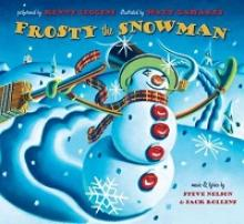 "Cover of the Book with Cd, ""Frosty the Snowman"" by Steve Nelson and performed by Kenny Loggins"