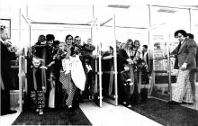 Urbana Kmart opening day, April 3, 1975