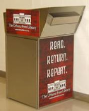 Image of school return bins