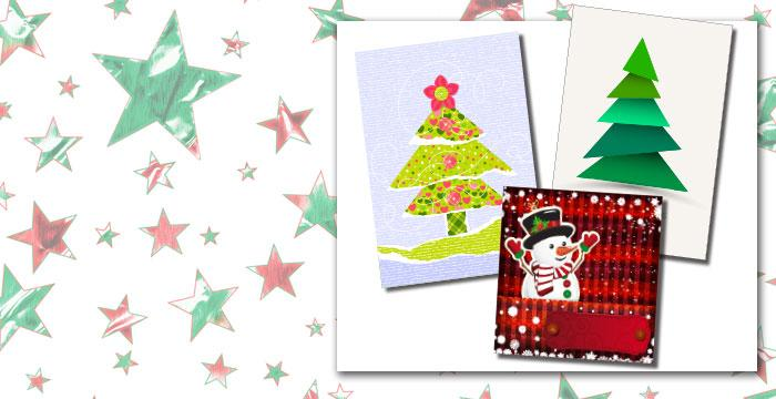 Community Crafting: Homemade Holiday Cards