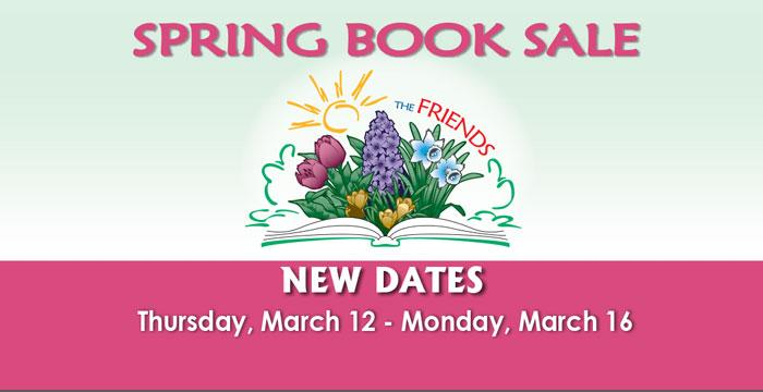 The Friends of the Library Spring Book Sale
