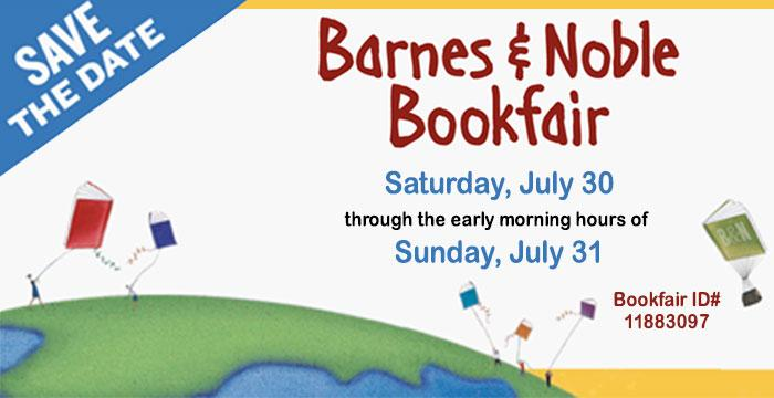 Barnes and Noble Bookfair supporting The Urbana Free Library