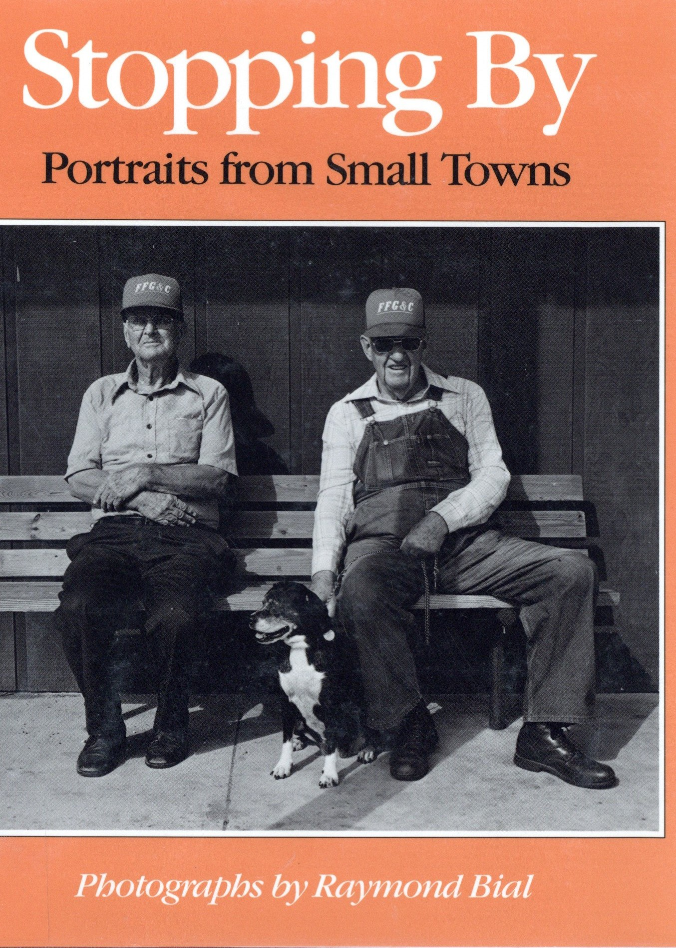 Book cover for Stopping by: portraits from small towns
