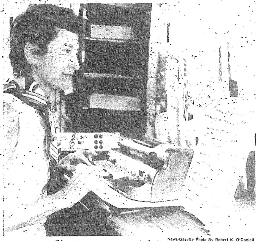 Bettye Krolick transcribing music