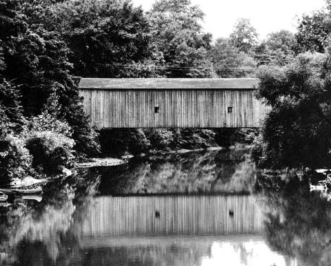 Homer Park Covered Bridge, 1920s