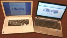 Chromebook and Laptop