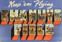 Postcard from Chanute Air Force Base, 1945