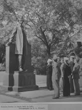 Lincoln the Lawyer statue by Laredo Taft, 1943