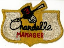 Chandelle Manger Patch