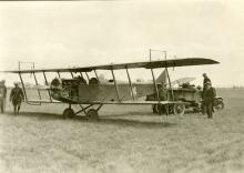 "Curtis JN-4 ""Jenny"" at Chanute Field"