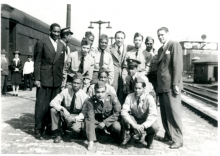 Tuskegee Airmen group photograph