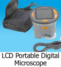 LCD Portable Digital Microscope